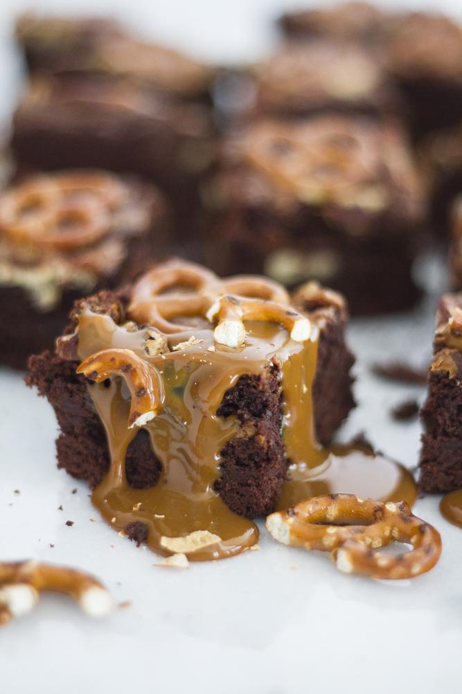 Dulce de Leche Turtle Brownies