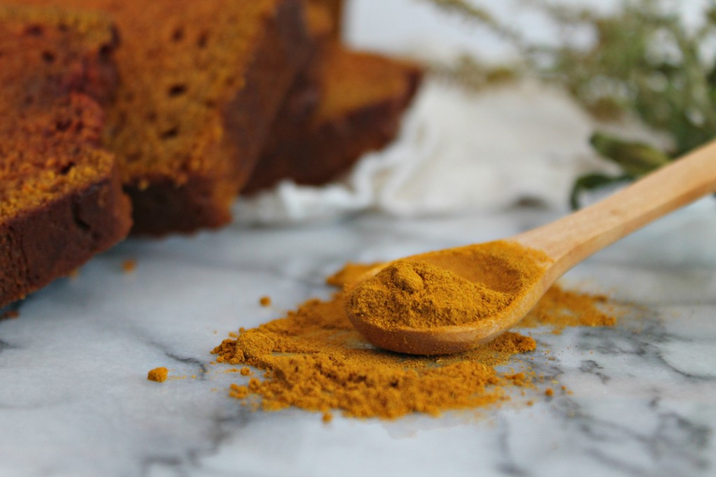 Turmeric Chai Pumpkin Bread recipe