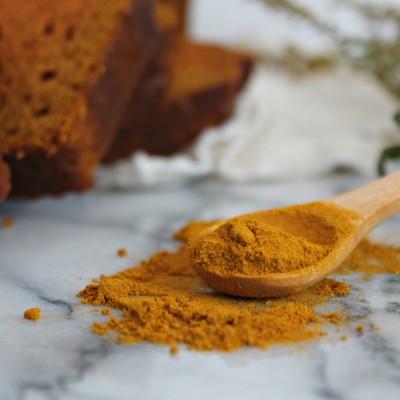 Turmeric Chai Pumpkin Bread