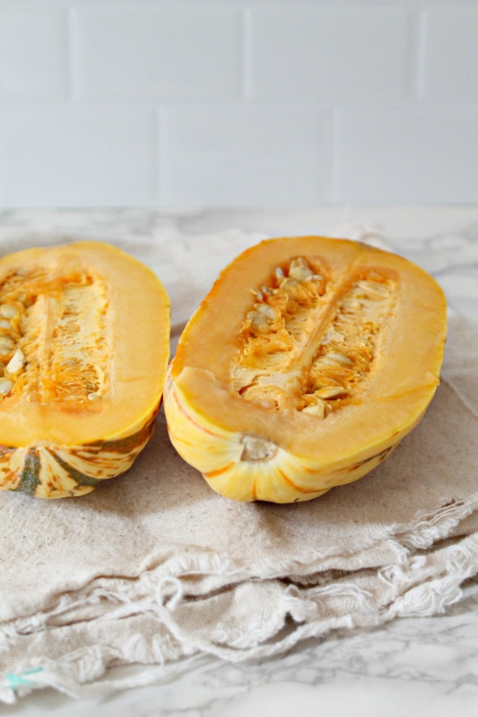 Maple Roasted Delicata Squash recipe