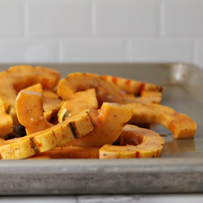 Maple Roasted Delicata Squash