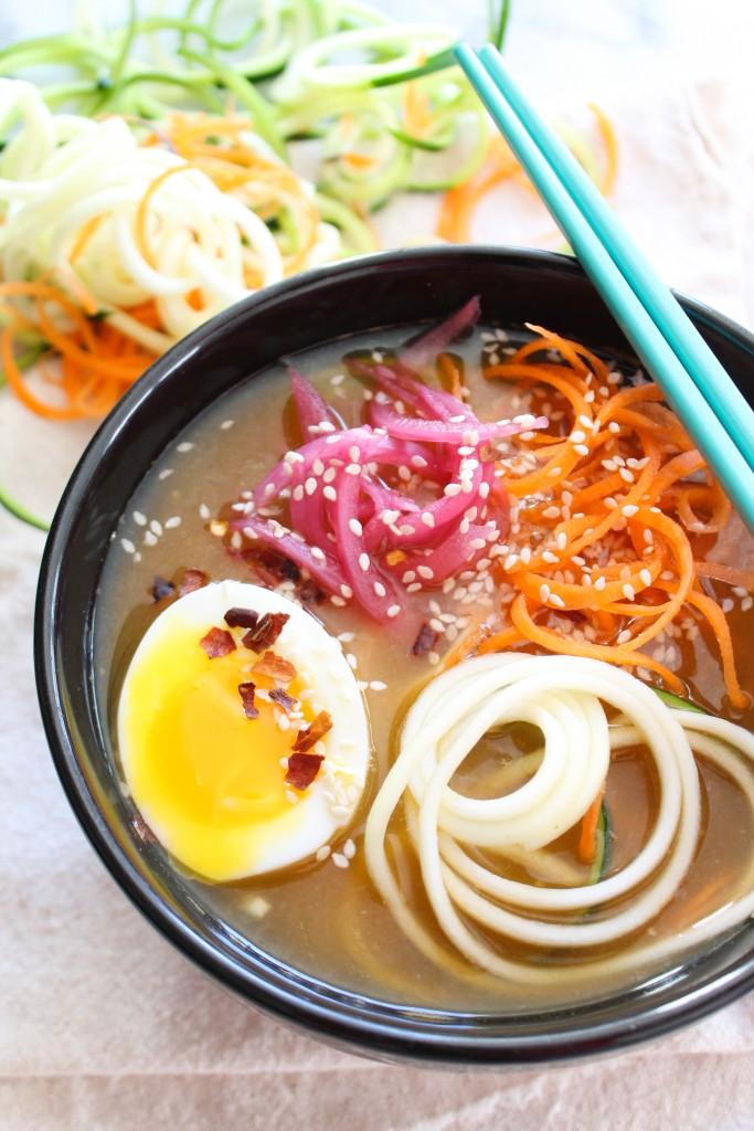 Vegetarian Asian Noodle Bowl-2