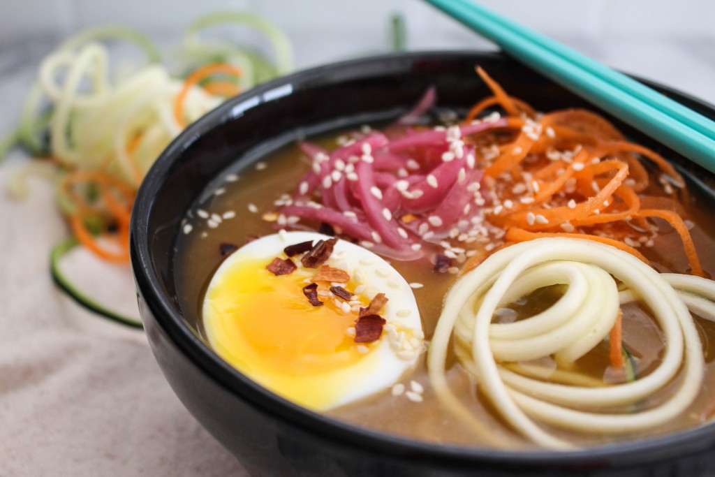 Vegetarian Asian Noodle Bowl recipe