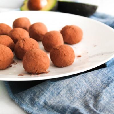 Avocado Fudge Truffles
