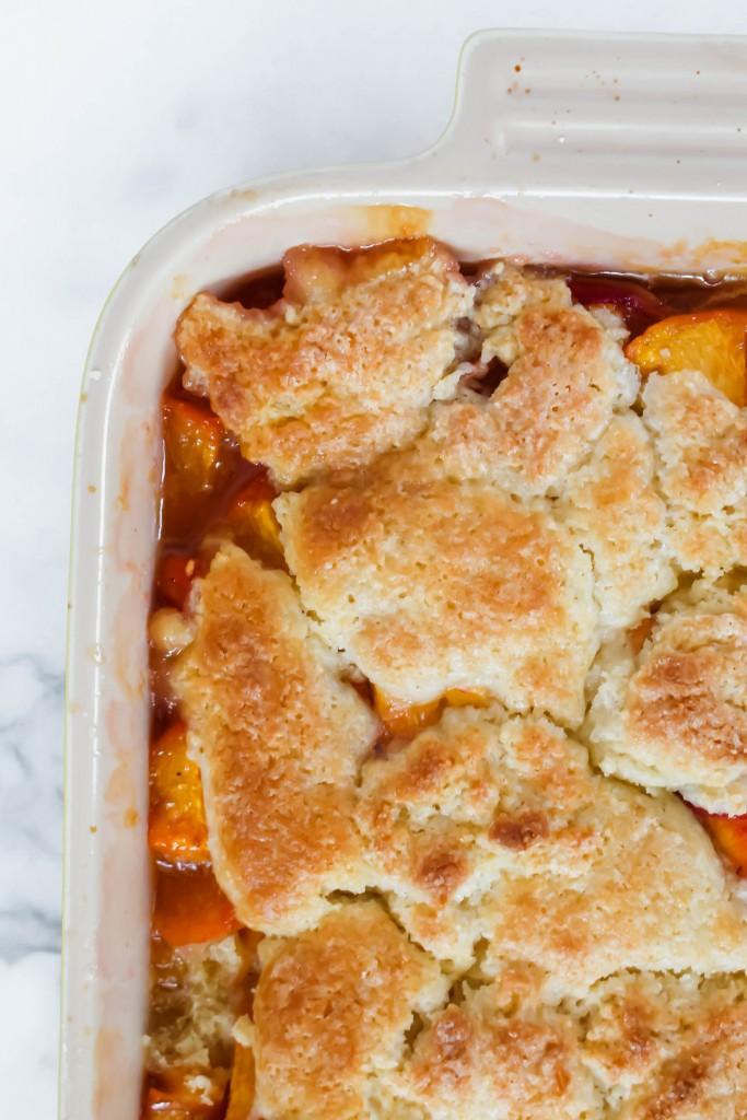 Goldbud Peach Cobbler recipe