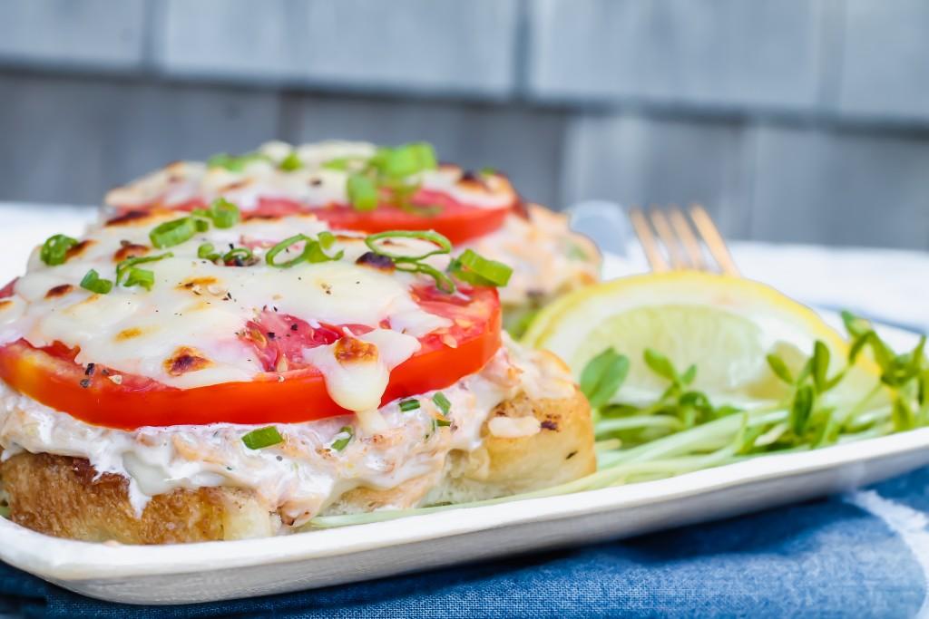 Deviled Crab Melts recipe