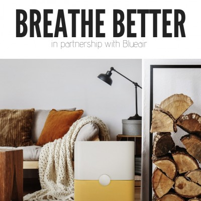 How to Breathe Better: Why I Got an Air Purifier in Our Home