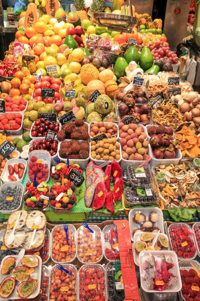Spanish Market Tour with BCN Kitchen