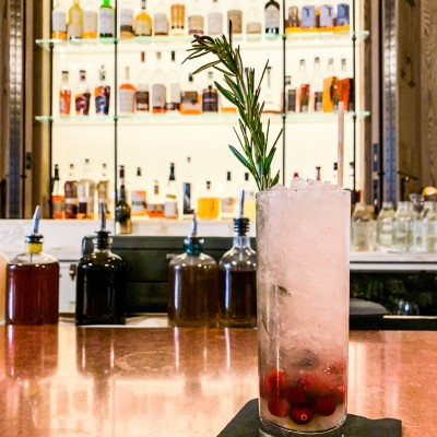 Co-Creating a Mocktail at the Fairmont Copley Plaza in Boston