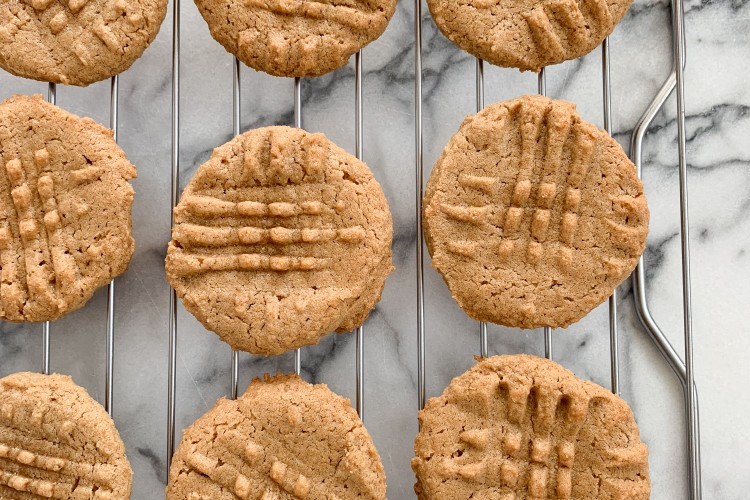 3 Ingredient Cashew Cookies