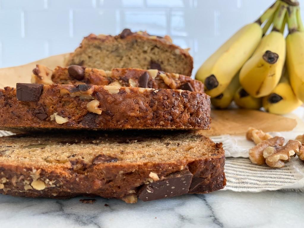 Walnut Chocolate Banana Bread-17
