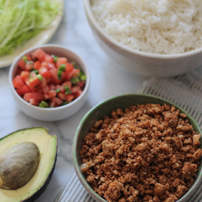 Cauliflower Taco Meat