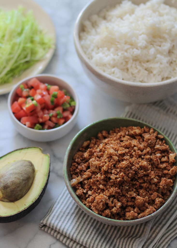 "Cauliflower Taco ""Meat"" recipe 02"