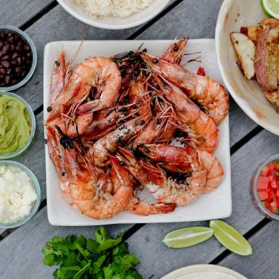 Fair Trade Shrimp & Potato Tacos
