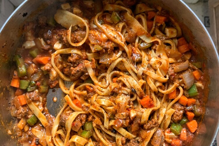 Quick & Easy Bolognese Sauce
