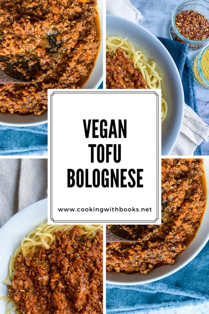 Vegan Tofu Bolognese