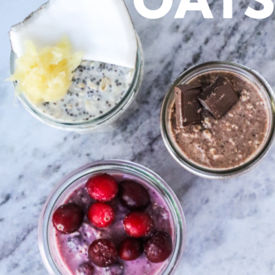 Overnight Oats: Three Ways