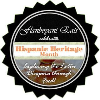 Logo for Flamboyant Eats celebrates Hispanic Heritage Month