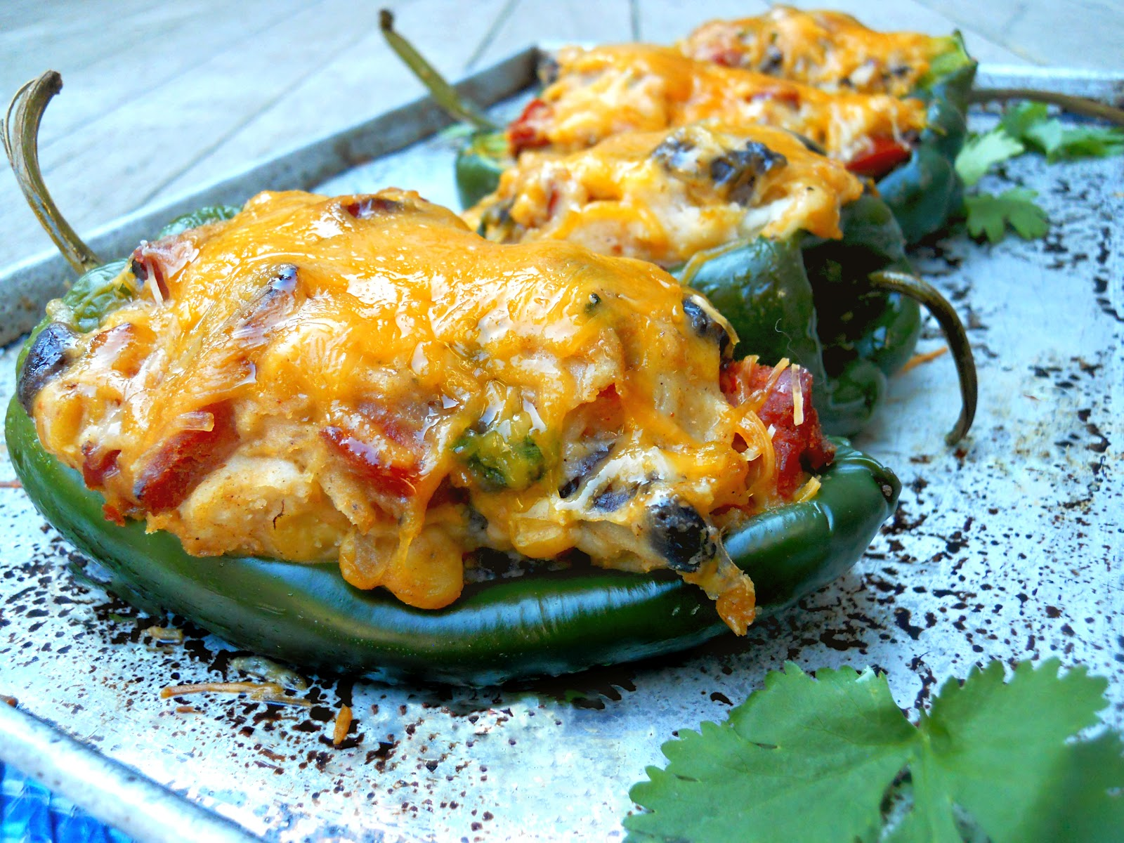 ... stuffed poblano peppers grilled chorizo stuffed poblano peppers cheese