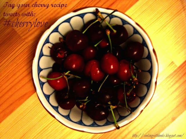 Cherry-Rhubarb Chutney Recipe \\ Cooking with Books